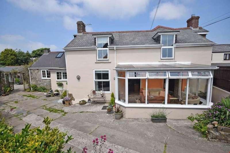 5 Bedrooms Detached House for sale in Tregonetha, Nr. St Columb Major, Cornwall