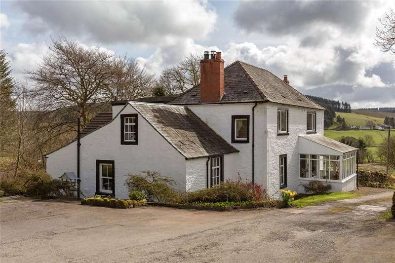 5 Bedrooms Detached House for sale in Watcarrick Farmhouse, Eskdalemuir, Langholm, Dumfriesshire