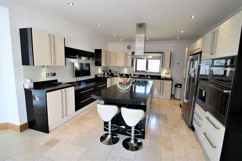 6 Bedrooms Detached House for sale in Rassau Road, Ebbw Vale, Beaufort, Blaenau Gwent, NP23 5BX