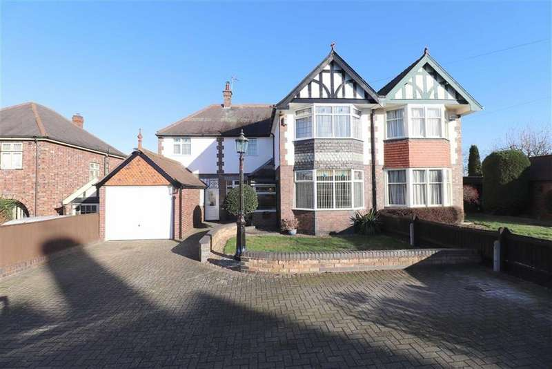 4 Bedrooms Semi Detached House for sale in Belvoir Drive, Aylestone, Leicester