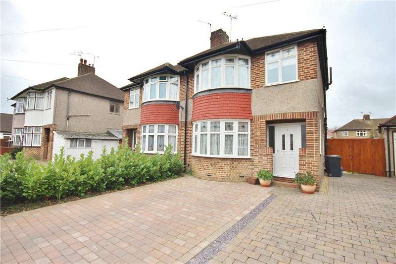 3 Bedrooms Semi Detached House for sale in Gerard Avenue, Whitton, Middlesex, TW4