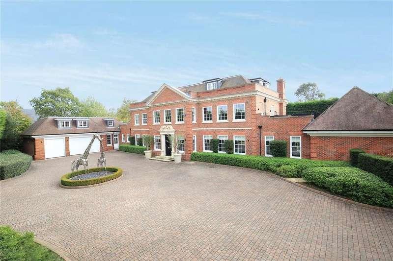 6 Bedrooms Detached House for sale in Montrose Gardens, Oxshott, Surrey, KT22