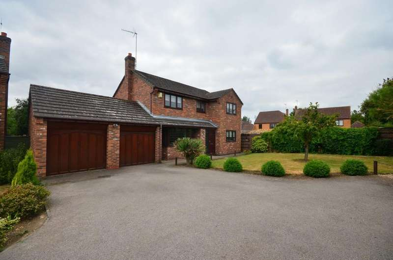 4 Bedrooms Detached House for sale in Breck Close, Great Oakley, Corby