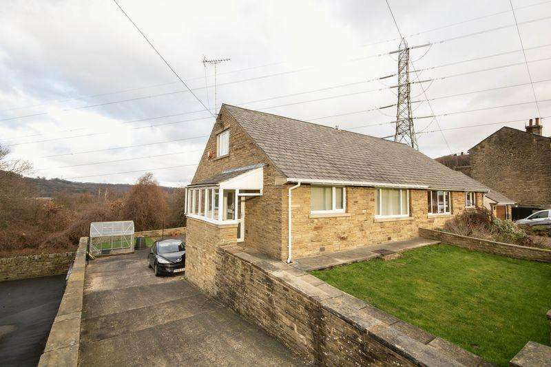 3 Bedrooms Semi Detached Bungalow for sale in Lower Edge Road, Elland