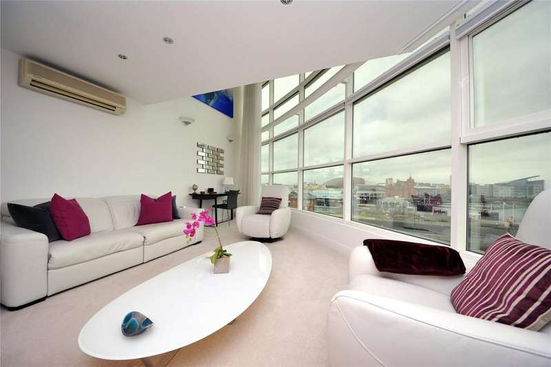 2 Bedrooms Apartment Flat for sale in Havannah Street, Cardiff Bay, Cardiff, CF10
