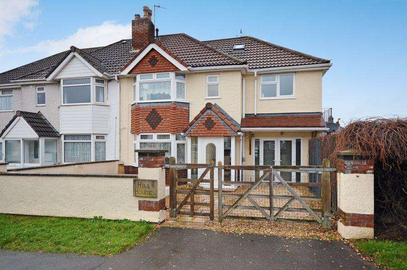 4 Bedrooms Semi Detached House for sale in Headley Park Road, Bristol