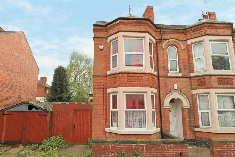 5 Bedrooms Semi Detached House for sale in Gregory Avenue, Lenton, Nottinghamshire, NG7 2EQ