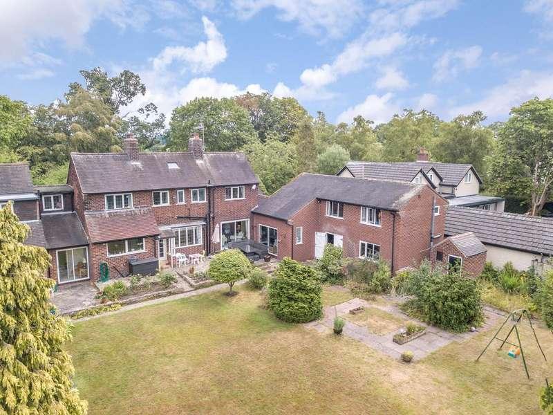 5 Bedrooms Detached House for sale in Plumley Moor Road, Plumley