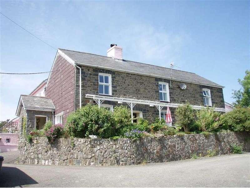 5 Bedrooms Detached House for sale in Llanarth, Ceredigion