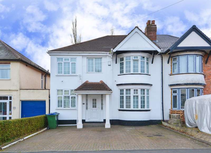 5 Bedrooms Semi Detached House for sale in Edward Road, Oldbury, B68