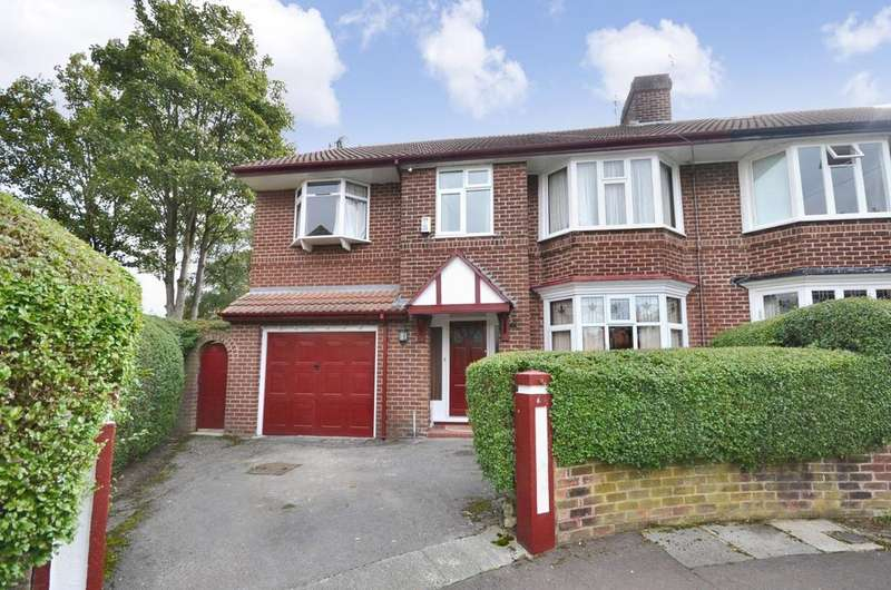 5 Bedrooms Semi Detached House for sale in Willoughby Avenue, Didsbury