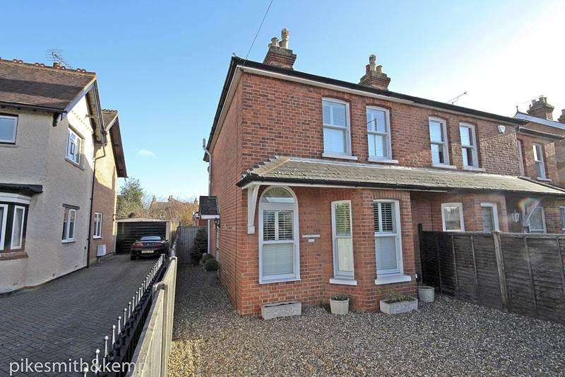 3 Bedrooms Semi Detached House for sale in Courthouse Road, MAIDENHEAD, SL6