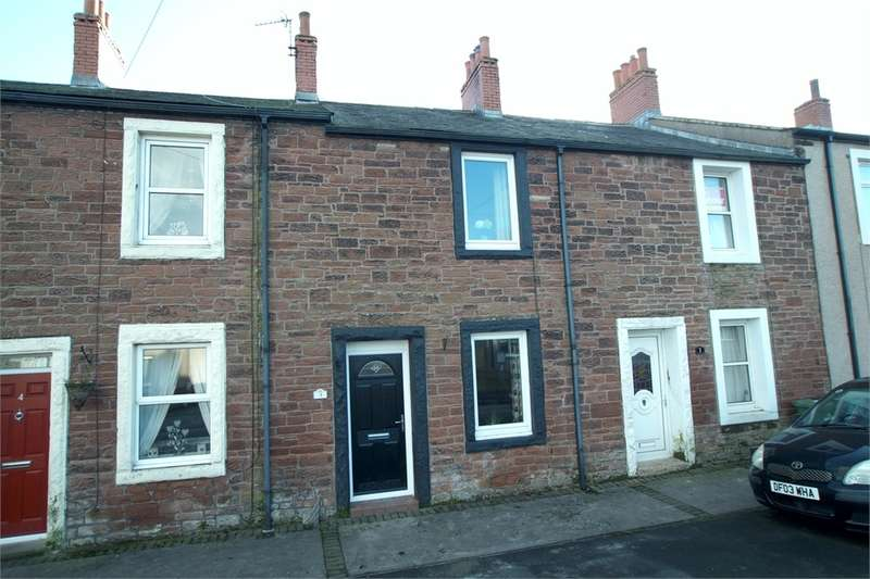 2 Bedrooms Terraced House for sale in CA7 1BH Allhallows Terrace, Fletchertown, WIGTON, Cumbria