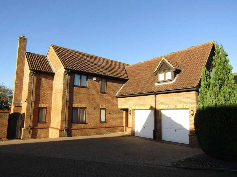 5 Bedrooms Detached House for sale in Littlebury Close, Stotfold SG5