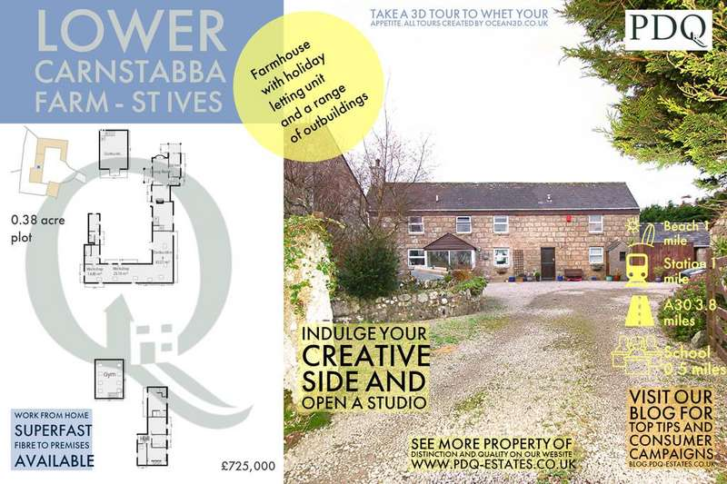 4 Bedrooms Detached House for sale in Lower Carnstabba Farm