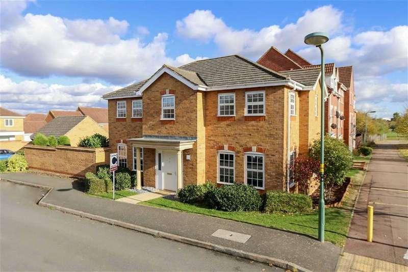4 Bedrooms Detached House for sale in Tandy Rise, Grange Farm, Milton Keynes, Bucks