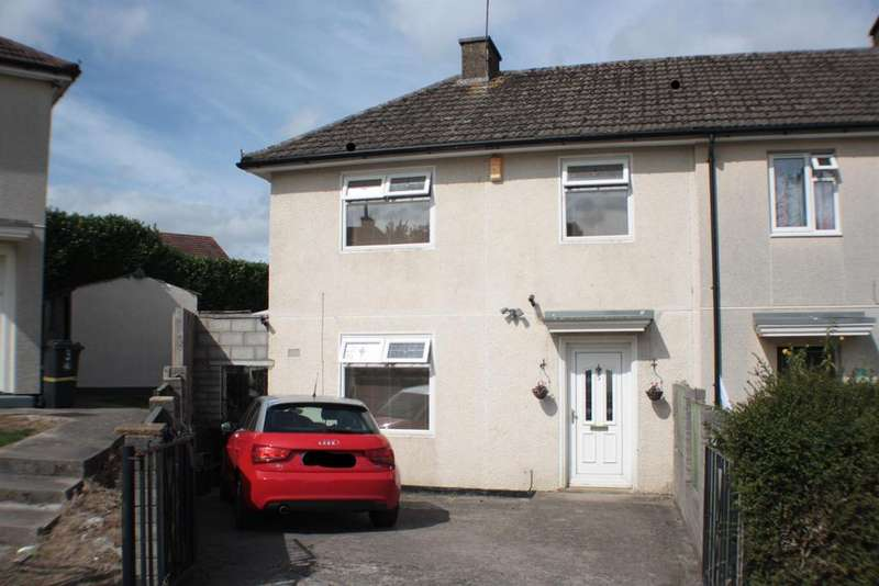 3 Bedrooms End Of Terrace House for sale in Taylor Gardens, Withywood, Bristol, BS13 9DN