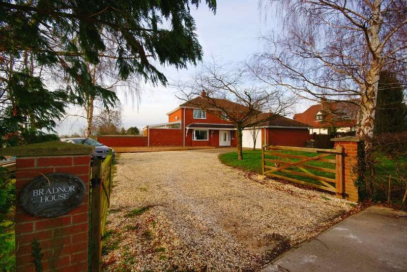 4 Bedrooms Detached House for sale in Westlaby Lane, Wickenby, LN3
