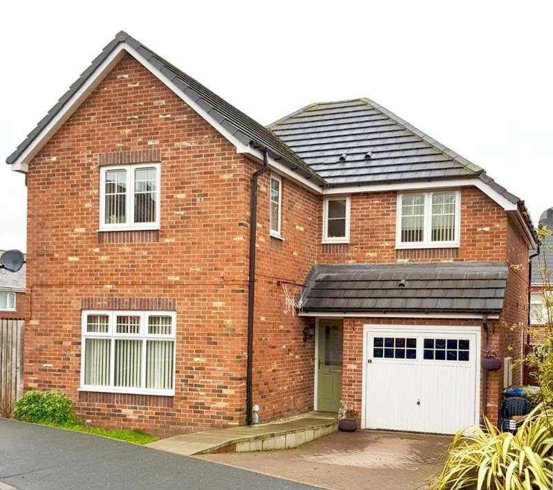 4 Bedrooms Detached House for sale in Wesley Lea, Castleside, Consett, DH8
