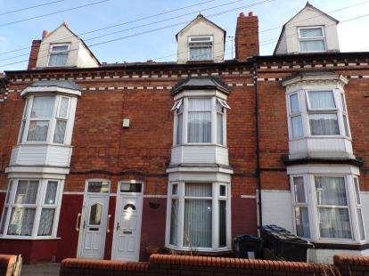 3 Bedrooms Terraced House for sale in Oriel Villas, Warwick Road, Sparkhill, Birmingham