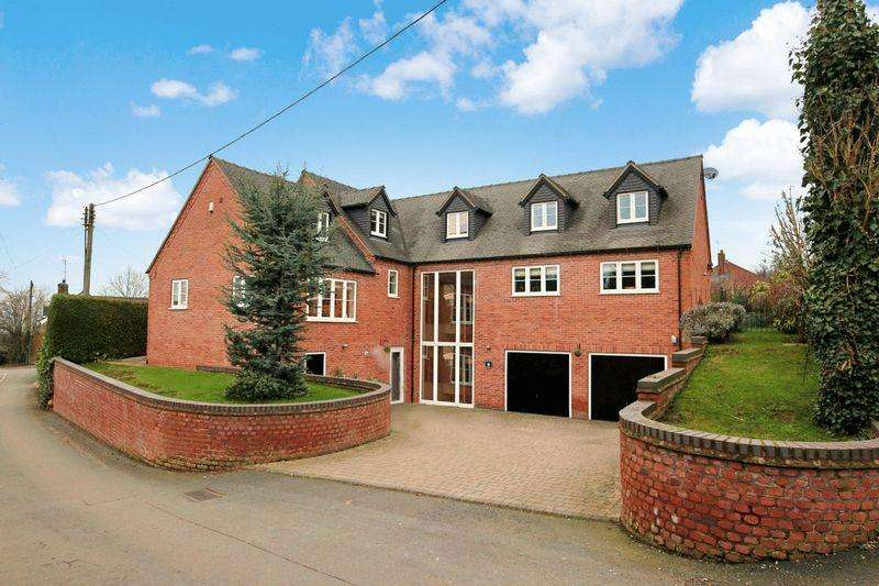 5 Bedrooms Detached House for sale in Malthouse Lane, Barlaston, ST12