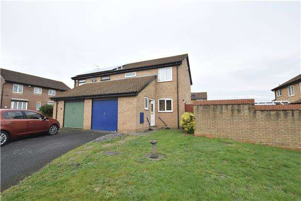 3 Bedrooms Semi Detached House for sale in Moor Croft Drive, Longwell Green, BS30 7DP