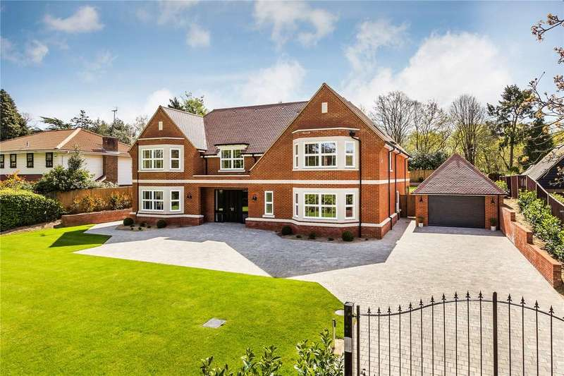 7 Bedrooms Detached House for sale in Old Avenue, West Byfleet, Surrey, KT14