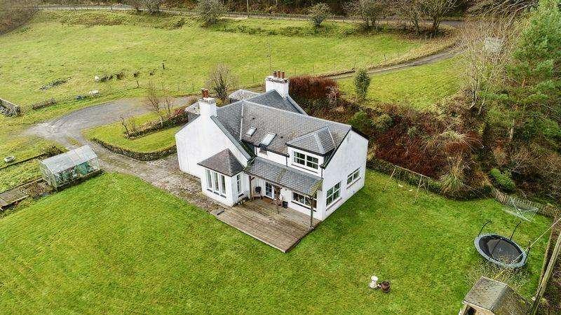 4 Bedrooms Cottage House for sale in Black Glen Cottage, Kilkerran, By Maybole