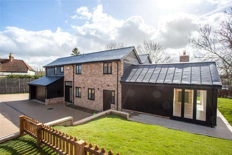 4 Bedrooms Detached House for sale in Home Farm House, Fiddlers Hamlet, Epping, Essex, CM16