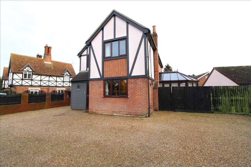 4 Bedrooms Detached House for sale in Tudor Rose House, Layer Road, Colchester