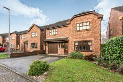 4 Bedrooms Detached House for sale in Chartwell Park, Wheelock, Sandbach, Cheshire