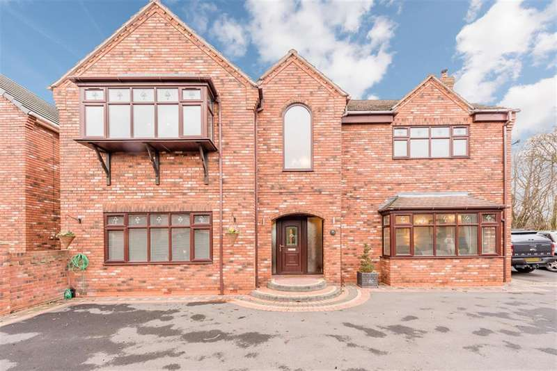 4 Bedrooms Detached House for sale in Tansey Green Road, DY5 4TE