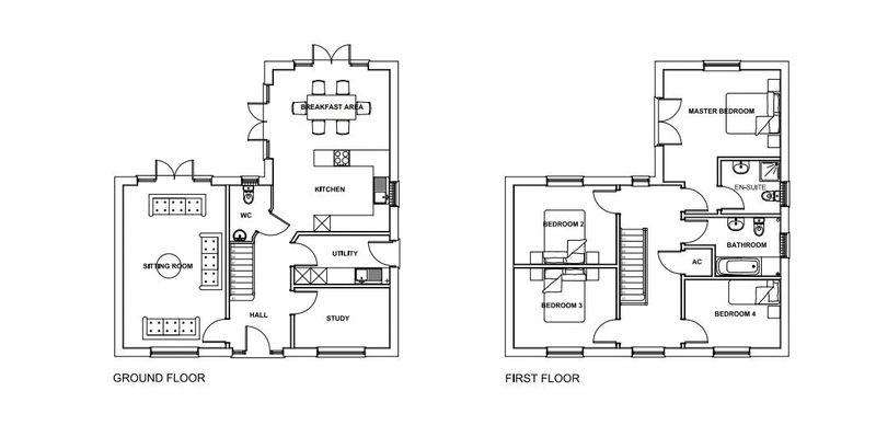 4 Bedrooms Detached House for sale in Lambsquay Road, Milkwall,