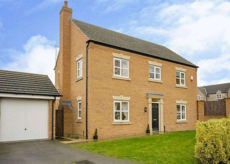 4 Bedrooms Detached House for sale in St Pancras Way, Ripley