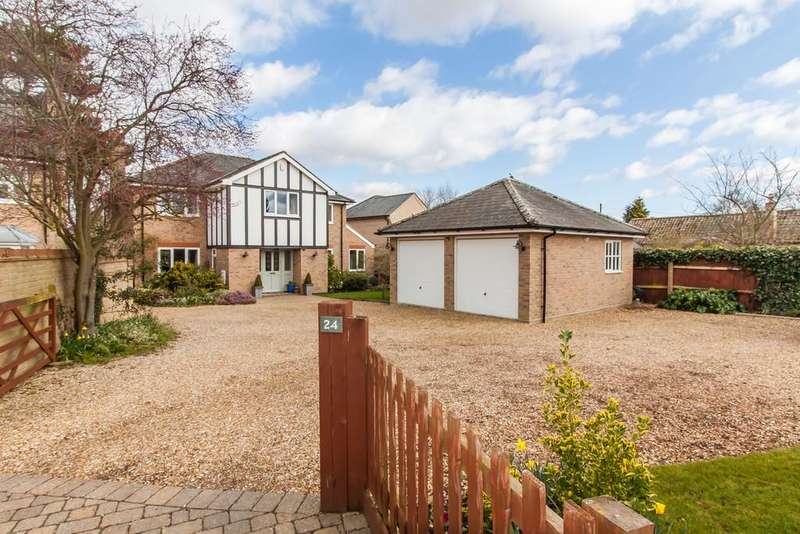 5 Bedrooms Detached House for sale in Church Street, Harston