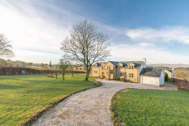 6 Bedrooms Detached House for sale in The Farmhouse, Roseview, Leadburn, West Linton, EH46 7BE