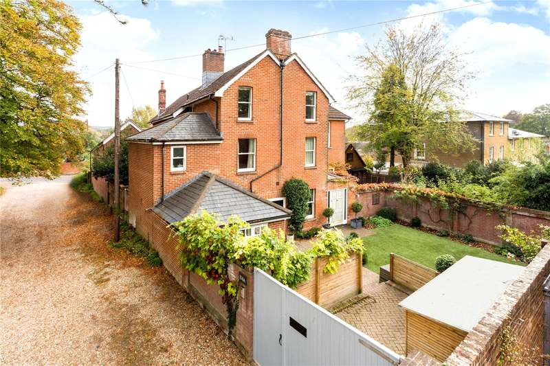 4 Bedrooms Semi Detached House for sale in Christchurch Road, Winchester, Hampshire, SO23