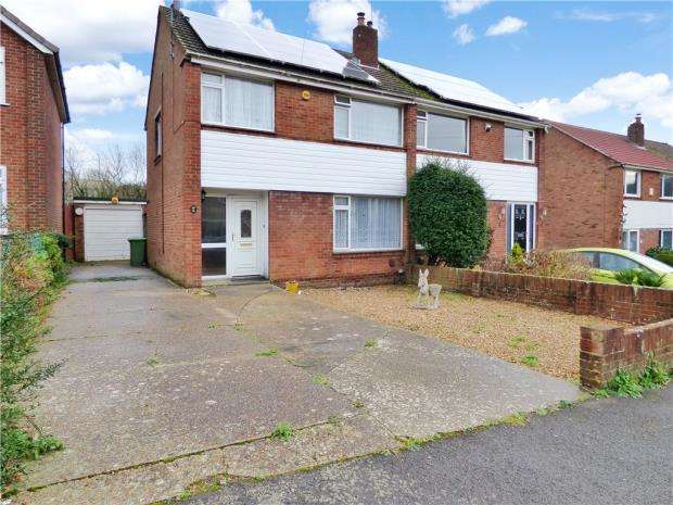 3 Bedrooms Semi Detached House for sale in Kinsbourne Way, Southampton, Hampshire