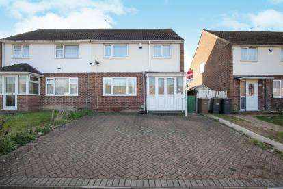 3 Bedrooms Semi Detached House for sale in Eldon Road, Luton, Bedfordshire, England