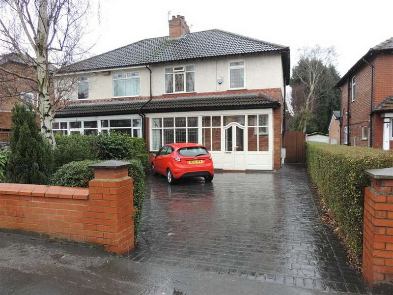 3 Bedrooms Semi Detached House for sale in Marple Road, Offerton, Stockport