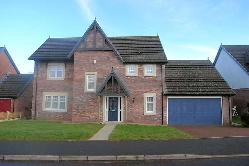 4 Bedrooms Detached House for sale in The Hawthorns, Gretna DG16