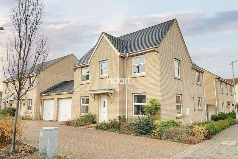 4 Bedrooms Detached House for sale in Fox Brook, St Neots