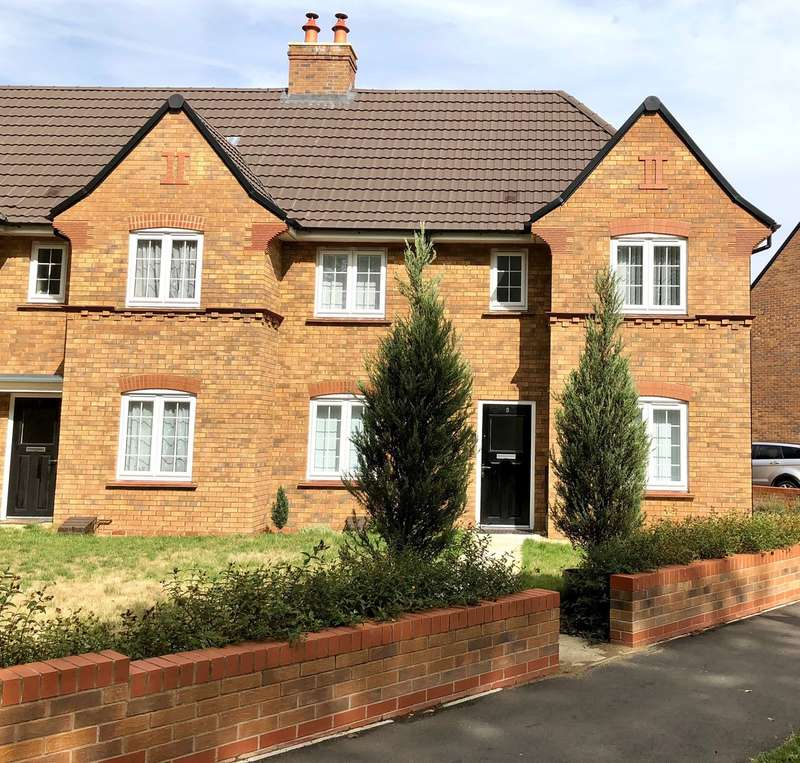 3 Bedrooms Semi Detached House for sale in Park Crescent, Stewartby, Bedfordshire, MK43