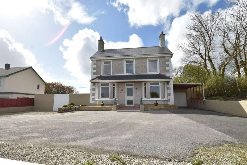 4 Bedrooms Detached House for sale in Gaverigan, St. Columb