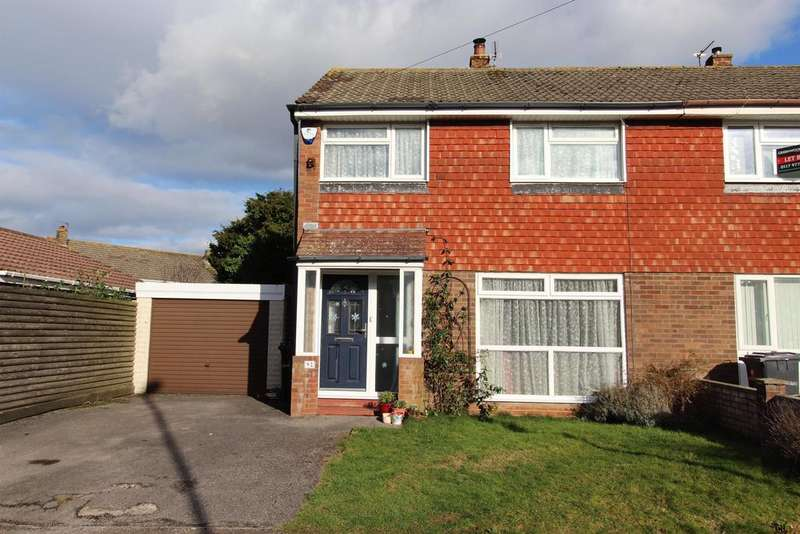 3 Bedrooms Semi Detached House for sale in Ladman Road, Stockwood , Bristol, BS14 8QF
