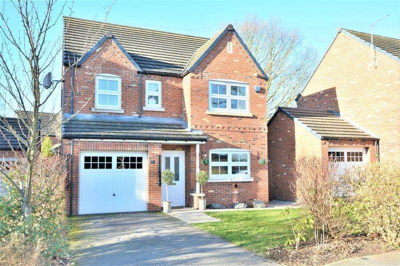 4 Bedrooms Detached House for sale in Buttercup Way, North Hykeham