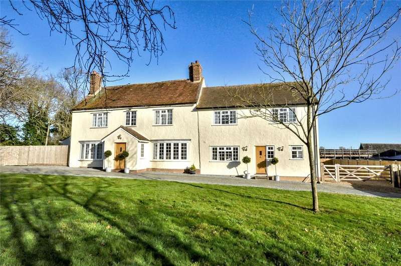 6 Bedrooms Detached House for sale in Debden Green, Nr Saffron Walden, Essex, CB11