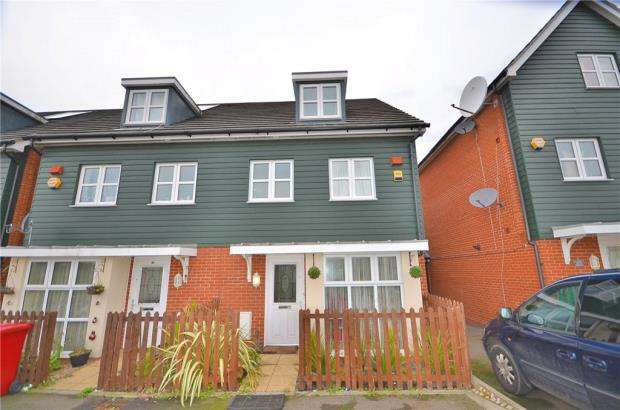 4 Bedrooms Semi Detached House for sale in Mathecombe Road, Slough
