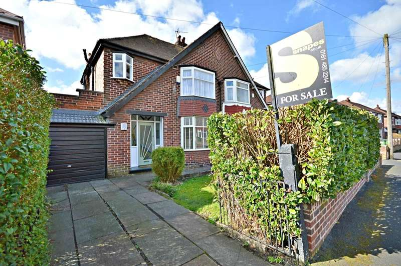 3 Bedrooms Semi Detached House for sale in Aber Road, Cheadle Hulme