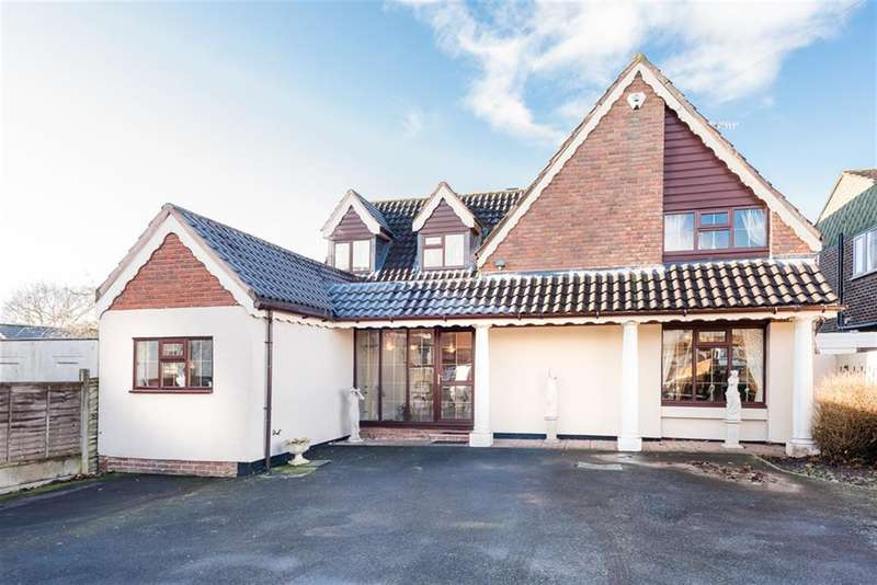 4 Bedrooms Detached House for sale in Beech Tree Cottage, Moss Grove, Kingswinford, DY6 9HS